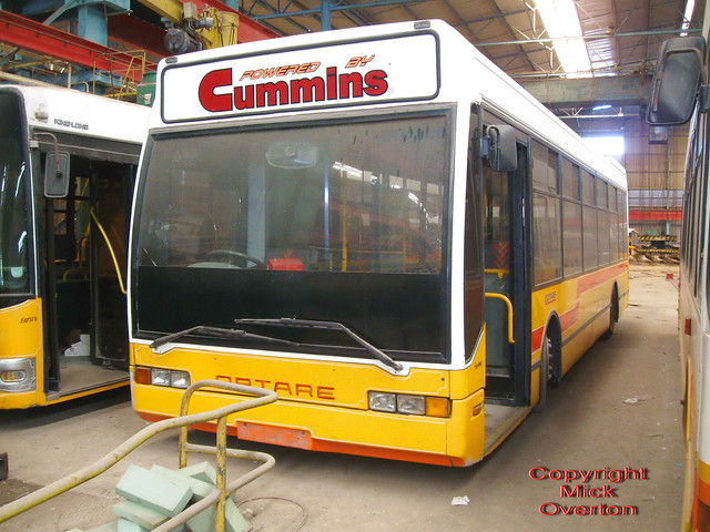 Malta´s sole Optare Excell FBY805 seen withdrawn out of contract in 2012