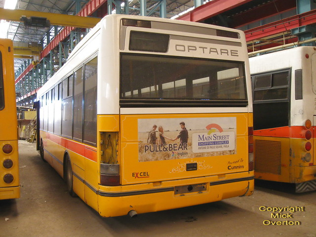 Malta´s sole Optare Excell seen withdrawn out of contract in 2012