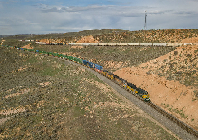 UP 1995 (SD70ACe) Train:ZSCG1-07 Wahsatch, Utah