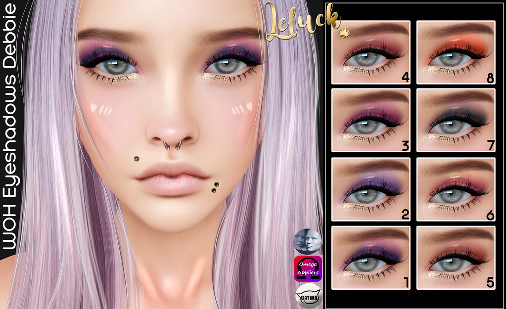 [LeLuck] WOH Eyeshadow Debbie - TeleportHub.com Live!