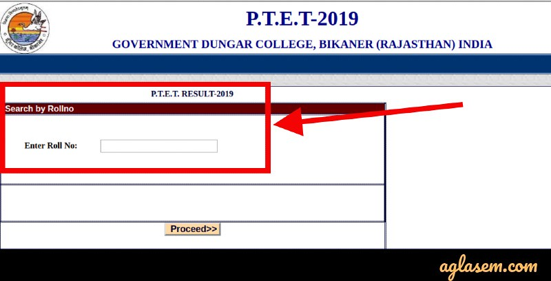 Rajasthan PTET Result 2019 (Announced) - Check at ptet2019 org for