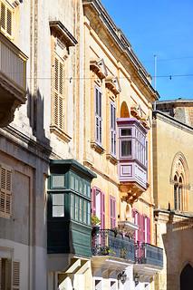 Pjazza San Pawl (St Paul's Square), Mdina, Malta - 2 May 2019