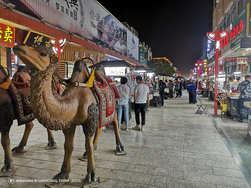 2019 China Dunhuang NIght Market 01
