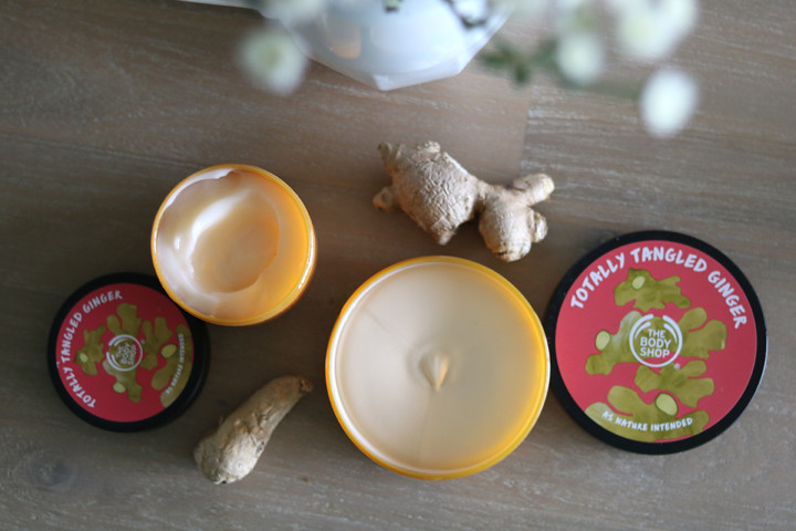 The Body Shop special edition Ginger collection