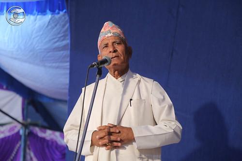 President SNM Nepal, Nar Bahadur Rawal, from Tikapur