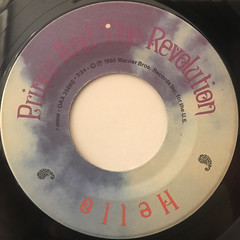 PRINCE AND THE REVOLUTION:POP LIFE(LABEL SIDE-B)