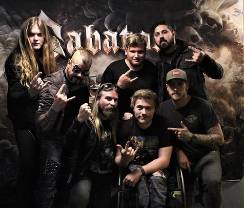 Sabaton meet & greet 20190524 Stockholm