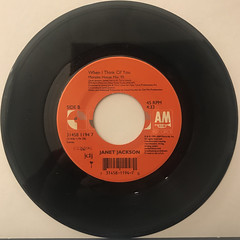 JANET JACKSON:RUNAWAY(RECORD SIDE-B)