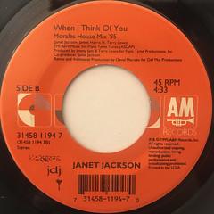 JANET JACKSON:RUNAWAY(LABEL SIDE-B)