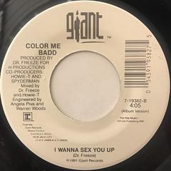 COLOR ME BADD:I WANNA SEX YOU UP(LABEL SIDE-B)
