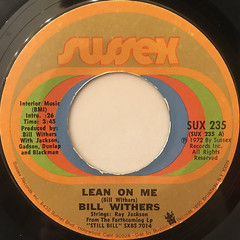 BILL WITHERS:LEAN ON ME(LABEL SIDE-A)
