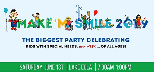 """""""Make 'M Smile Party"""" for Kids with Special Needs"""