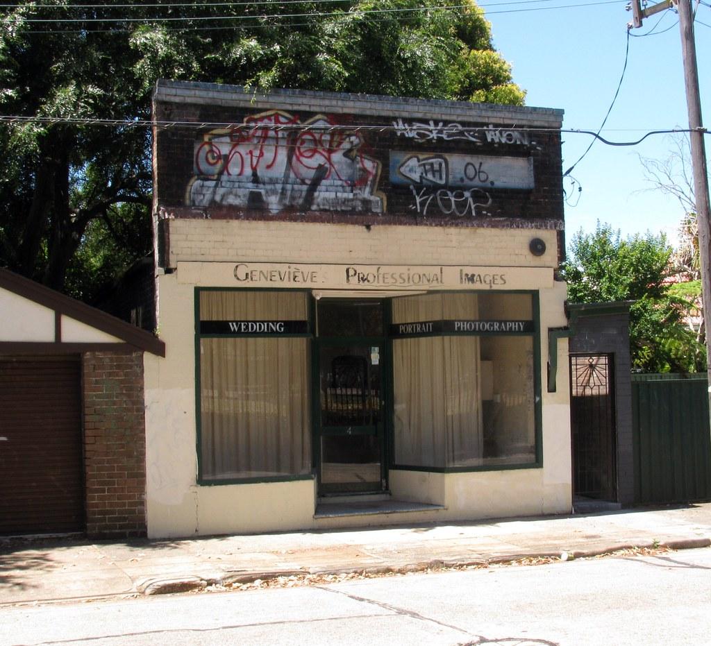 Ex Shop, Toothill St, Lewisham, Sydney, NSW.