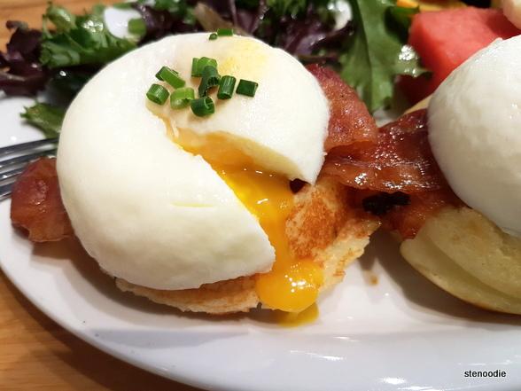 Starving Artist Waffles & Espresso eggs benny