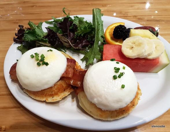 Breakfast Benedict Waffles