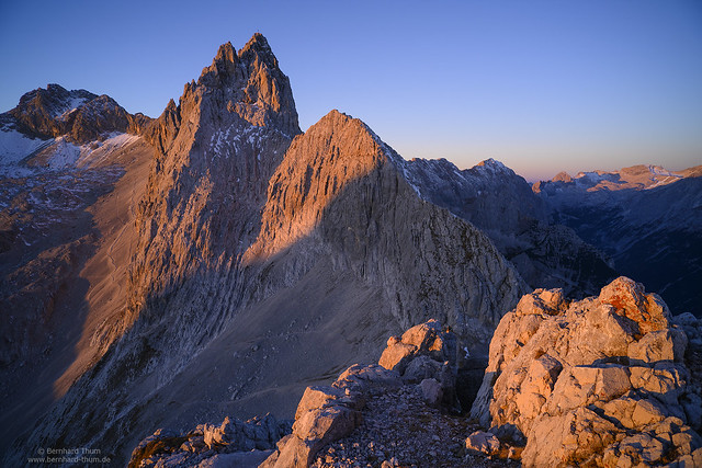 First light at Dreitorspitze N°2