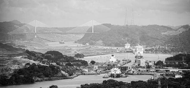 Canal de Panama - 2014 - BW