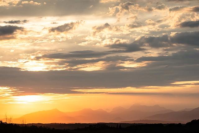 2019-05 Cerreto Guidi, Sunset
