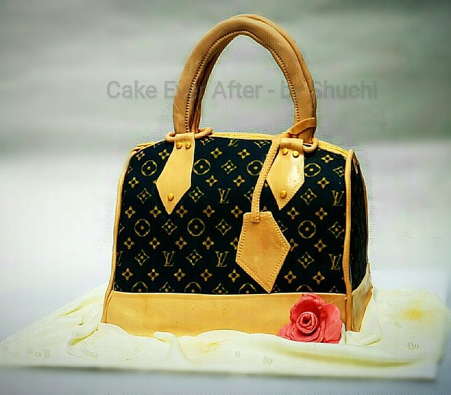 Louis Vuitton Handbag Cake from Cake Ever After - By Shuchi