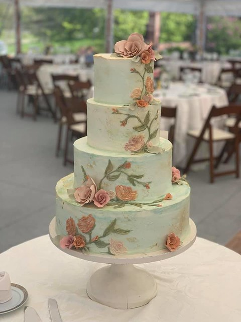 Cake by Jenny's Wedding Cakes