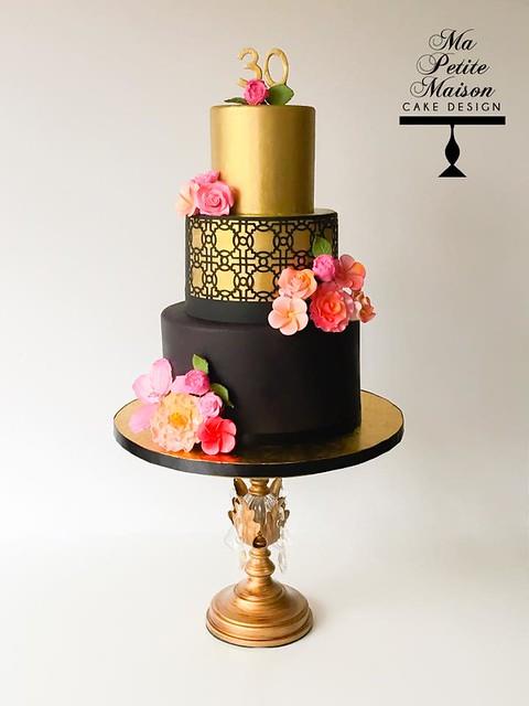 Cake by Ma Petite Maison Cake Design