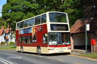 Go Ahead East Yorkshire 669, PJ02RBY.