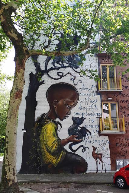 Amsterdam street art, Herakut | Your Dutch Guide