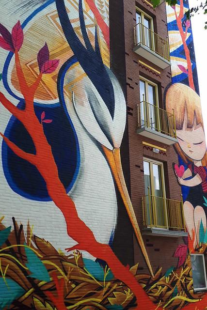 Amsterdam street art, Julieta XLF | Your Dutch Guide