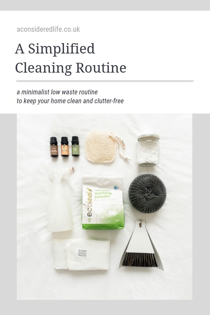 A Simplified Cleaning Routine