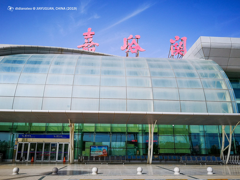 2019 China Jiayuguan Airport
