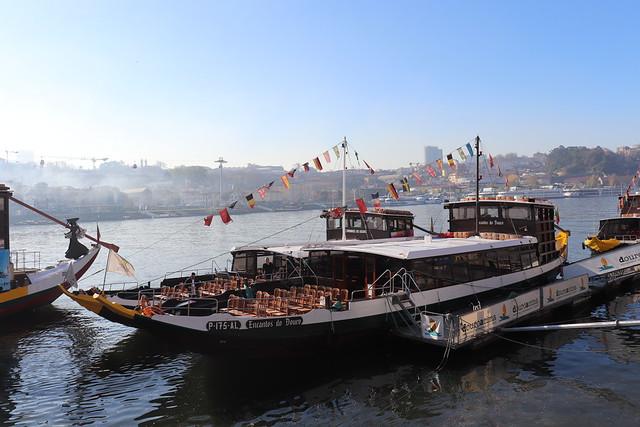 Crucero de los 6 puentes de Oporto