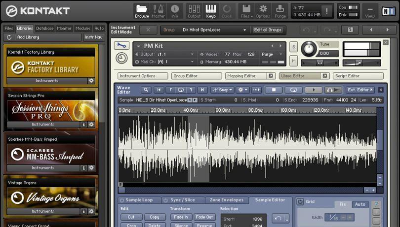 Kontakt 6 1 1 – High-end audio sampler   macOS   NMac Ked