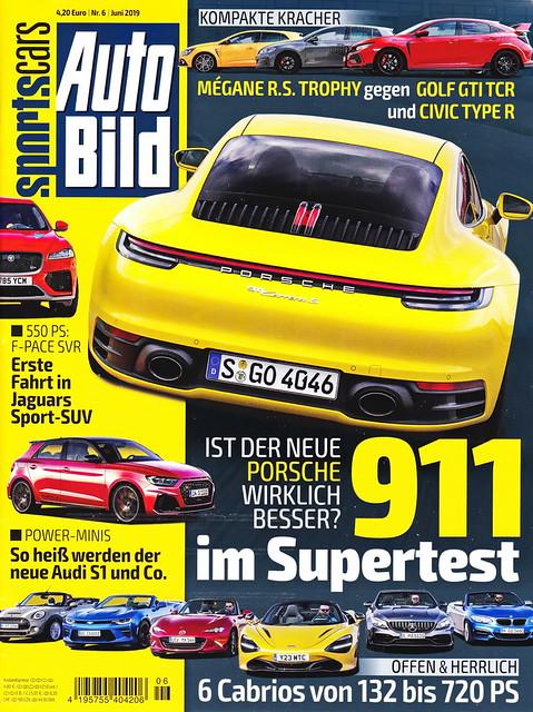 Auto Bild Sportscars 6/2019