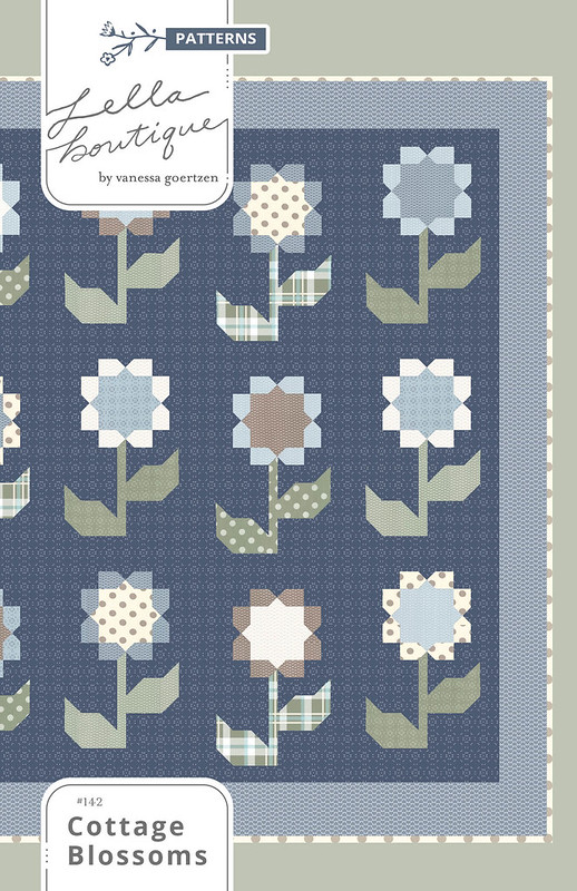 LB142 Cottage Blossoms Cover