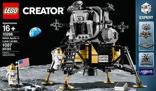 慶祝人類登月50週年!! LEGO 10266【NASA 阿波羅11號登月小艇】NASA Apollo 11 Lunar Lander