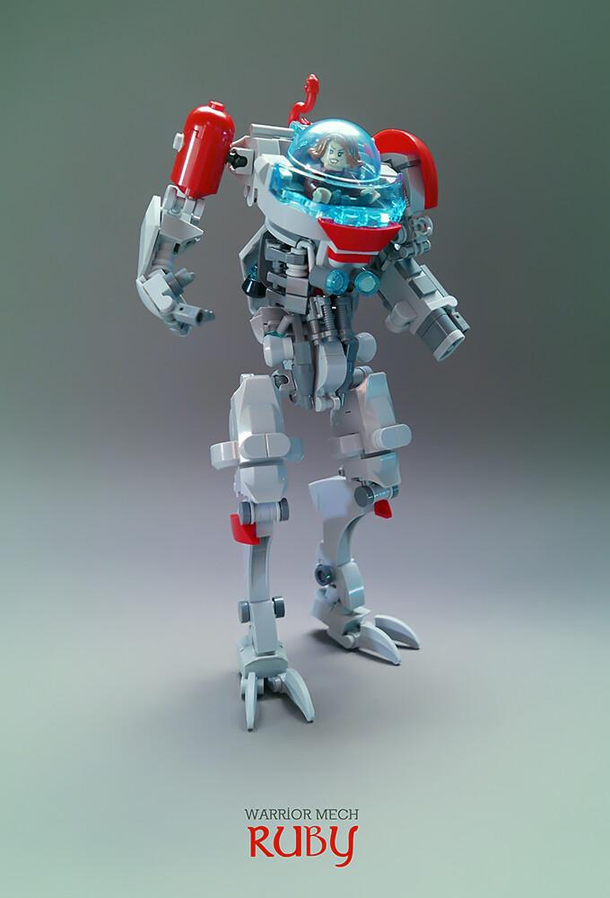 Ruby LEGO MOC