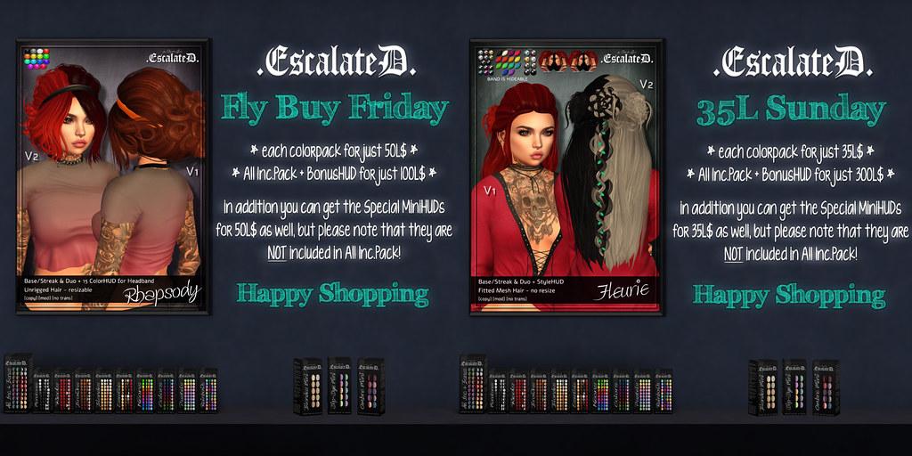 .EscalateD. | Weekend Deals - TeleportHub.com Live!