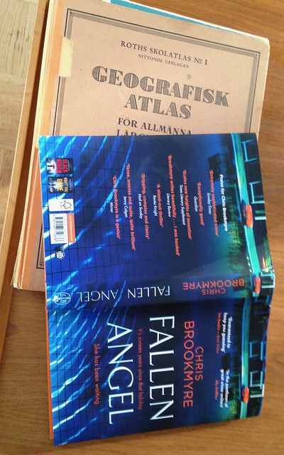 Ancient atlas and holiday crime