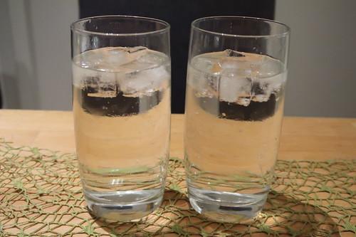 Wodka-Tonic mit Eis