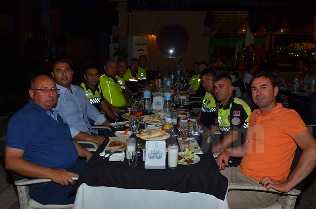 Meslektaşlar Öztürk Kolcuoğlu'nda buluştu