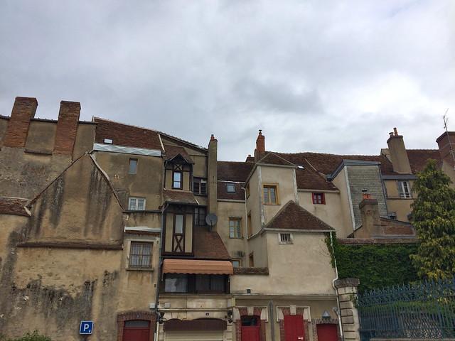 Dans les rues d'Auxerre