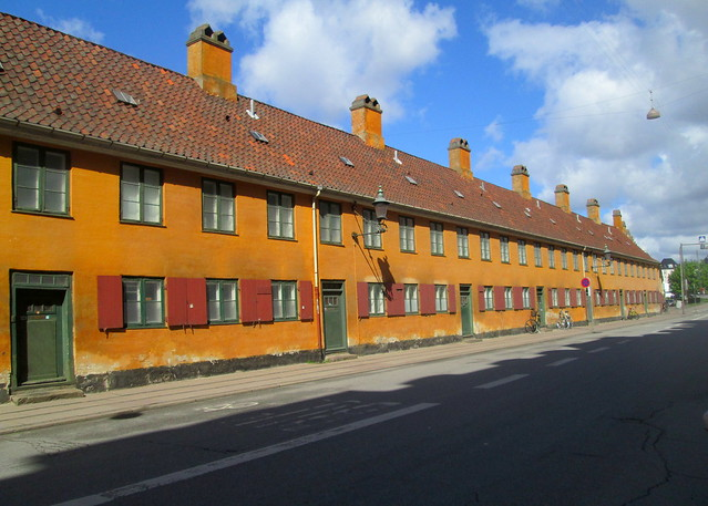 Old Terraced Housing, Copenhagen