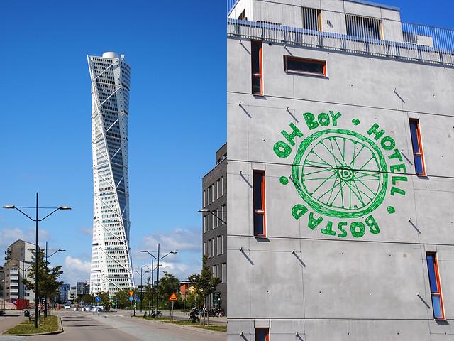 Malmö: Turning Torso, Ohboy hotell