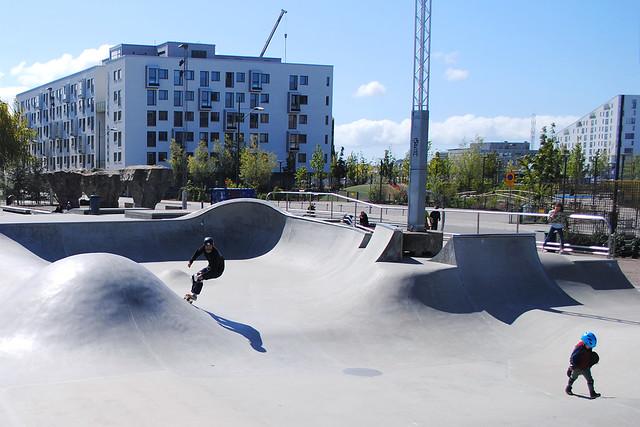 Malmö: Skate park
