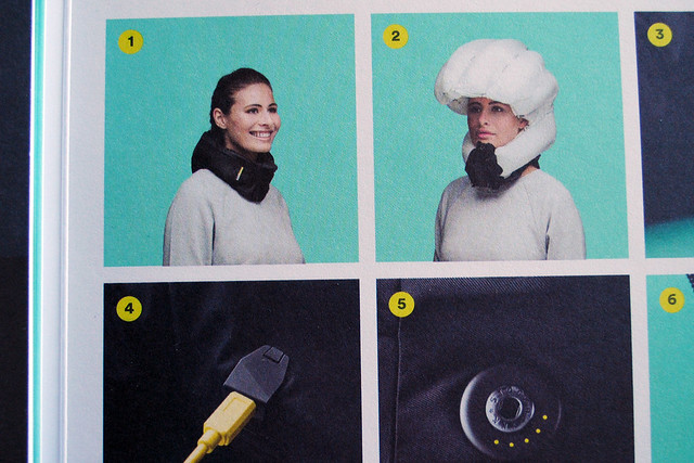 Malmö: Hövding airbag bicycle helmet
