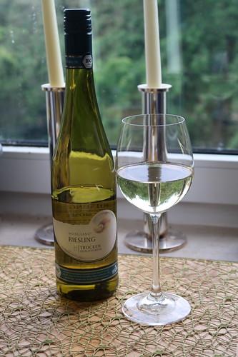 Riesling (Wein der Winzergenossenschaft Moselland, Bio und vegan, 2017)