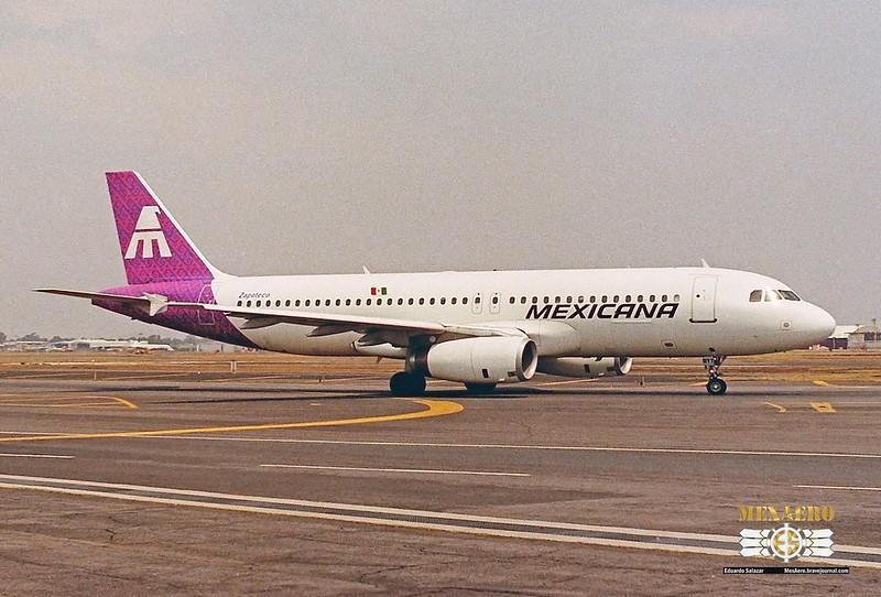 Mexicana / Airbus A320-231 / XA-RYT