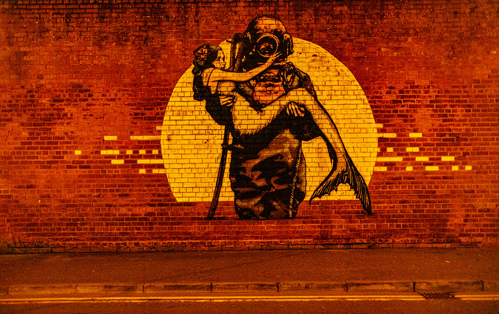 STREET ART AT RANDOM IN BELFAST [25 March 2019]-152860