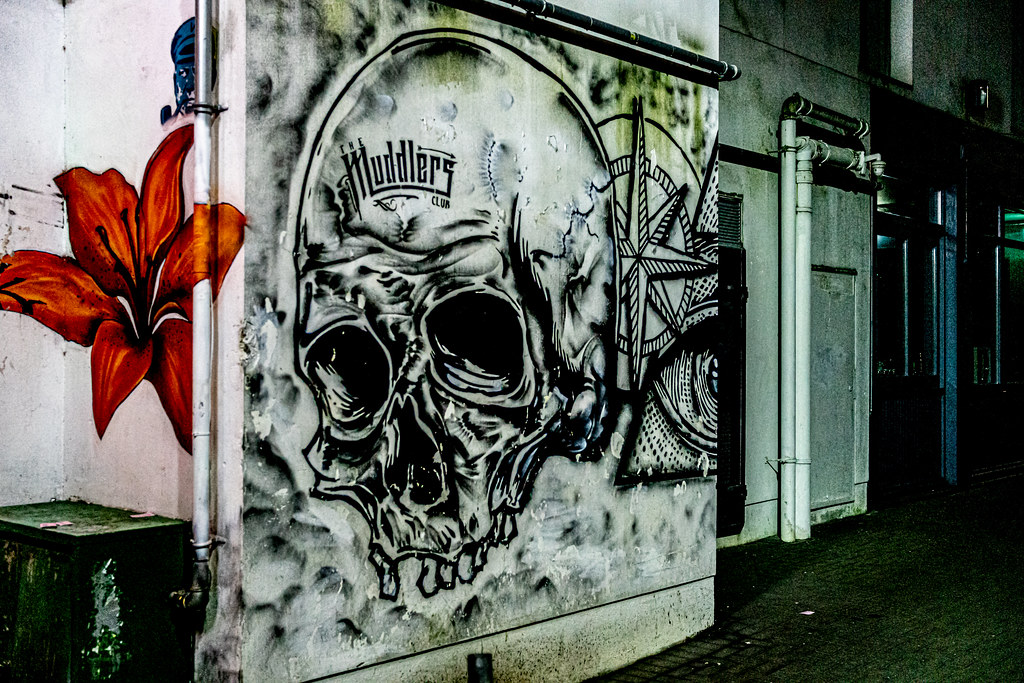 STREET ART AT RANDOM IN BELFAST [25 March 2019]-152856