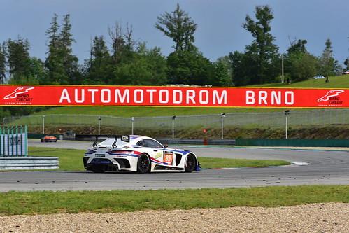 Charles Putman - Charles Espenlaub - Joe Foster, Mercedes AMG GT3, 12H Brno 2019